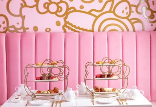 Afternoon Tea in The Bow Room at Hello Kitty Grand Cafe