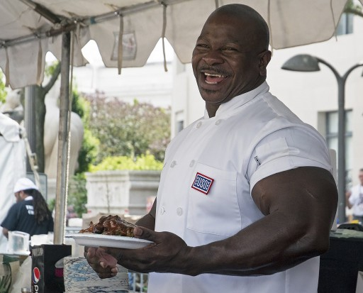 White House Chef and Combat Veteran Andre Rush Has Signed a Deal to Produce 'Chef in the City'