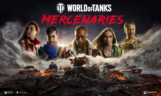 Wargaming Launches World of Tanks: Mercenaries Exclusively for Xbox and PlayStation 4