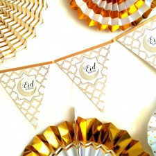 Eid Decoration: Eid Mubarak Bunting