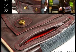 Rick Allen Day Bag Detail