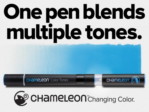 ​​​Chameleon Color Tones Pens Triumphs in Red Dot Award: Product Design 2016