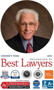 Howard Ross of Battaglia, Ross, Dicus & McQuaid, P.A.