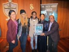 Drug prevention conference at Church of Scientology stresses participation and a practical approach to reversing drug trends
