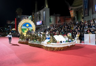 The Way to Happiness Hollywood Christmas Parade Float
