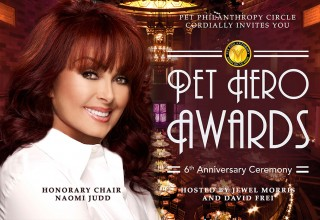 Pet Hero Awards - Naomi Judd