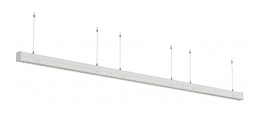 Continuous Run LED Aisle Light From Emium Provides Phenomenal Punch to Grocery Aisles