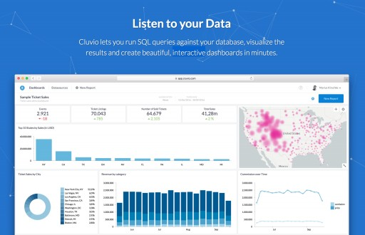 Cluvio Announces New Pricing Including a Completely Free Cloud Analytics Plan