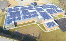 Arial View of Wilde Lake Middle School Roof