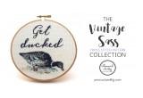 Get Ducked Cross Stitch Pattern