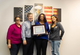 Miami VA Supervisor Marsha Latham Recognized for Disrupting Veteran Homelessness