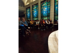 Search and rescue and CPR training in the Chapel