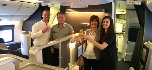 How a Family of Four Flew Together for 19 Hours in First Class for Just $436 Per Person