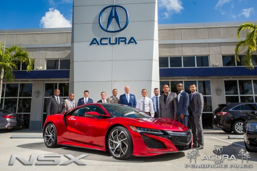 Acura of Pembroke Pines Hosts Reception for Customers to Preview and Experience the All-New 2017 Acura NSX
