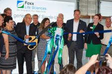 2021 Foxx Life Sciences Ceremonial Ribbon Cutting