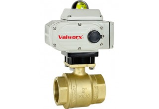 New 5618a Electric Actuator with Brass Ball Valve