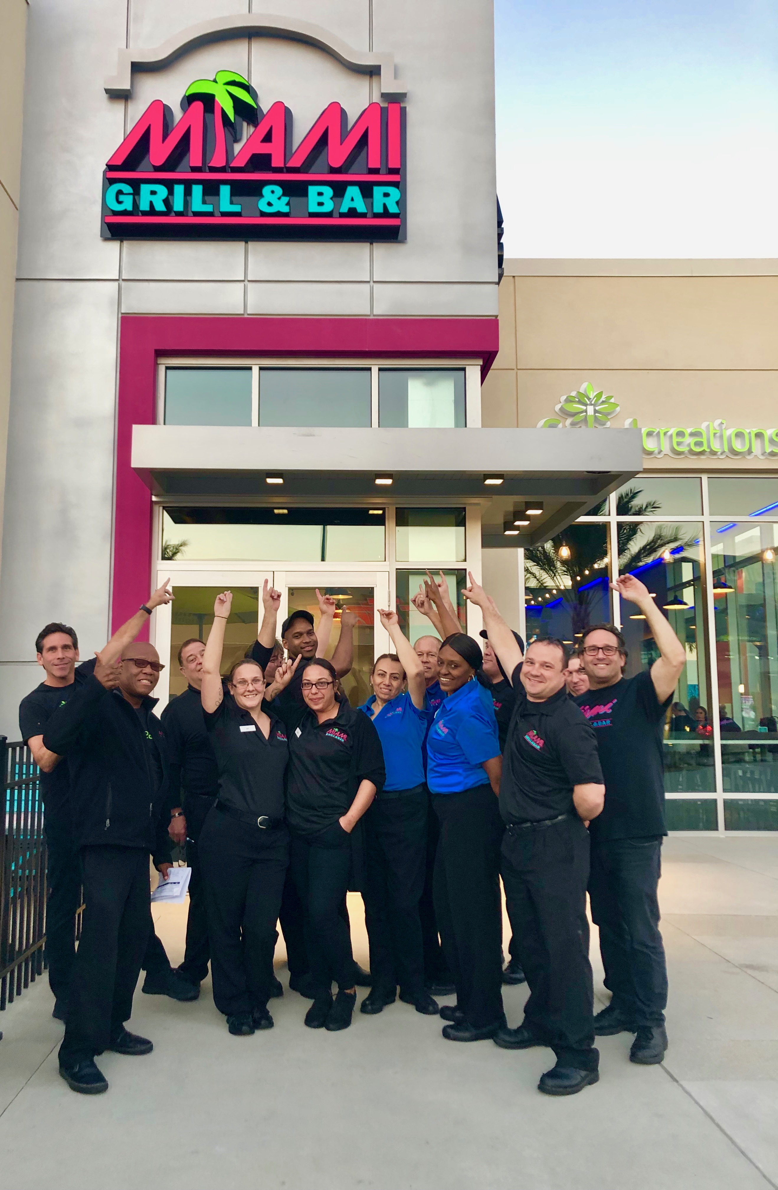 miami grill® & bar officially opens at one daytona | newswire