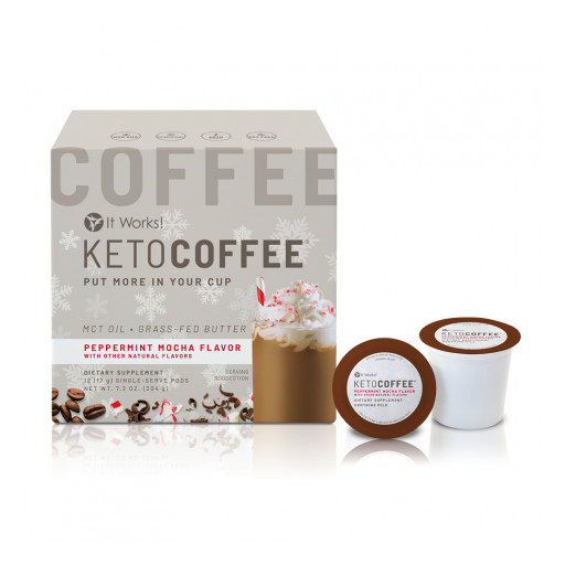 Peppermint Mocha Keto Coffee is the Perfect Beverage for This Holiday Season
