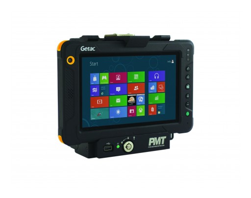 PMT Unveils New In-Vehicle Docking Station for Getac EX80