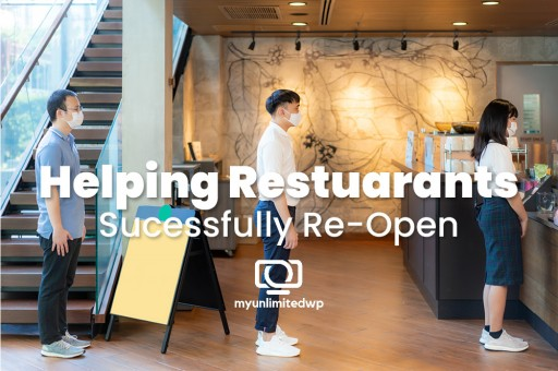 Restaurants Turn to MyUnlimitedWP as Their Website Solution Partner to Reconnect With Their Customers and Community