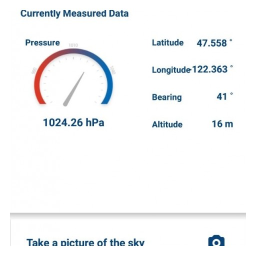 OBSR Launched Weather Data Prototype App