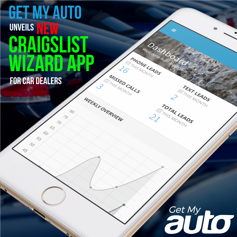 Get My Auto Unveils New Craigslist Wizard App for Car Dealers | Newswire