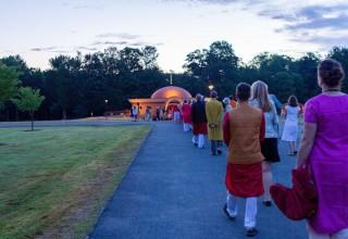 Sri Vidya Shrine consecration
