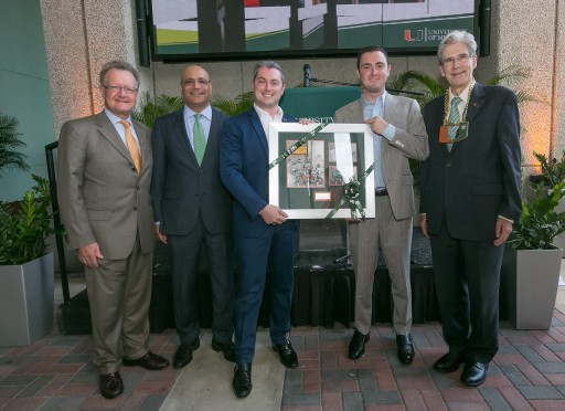 Finker Frenkel Legacy Foundation Provides Major Gift to the University of Miami for Promenade and Endowed Fund