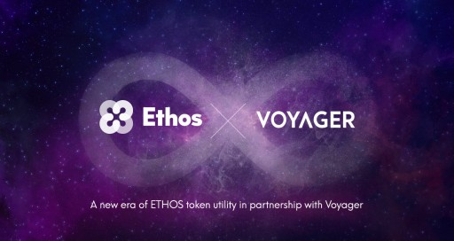 Ethos to Offer Cashback to ETHOS Token Holders That Trade on Voyager Platform