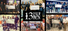 13 Ugly Men Donates to local charities