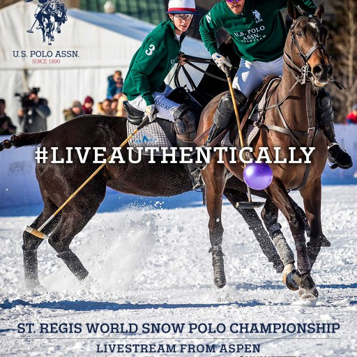 U.S. Polo Assn. Announces Apparel Sponsorship With the Aspen Valley Polo Club and the St. Regis World Snow Polo Championship in Aspen