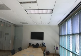 Violet Defense's S.A.G.E. UV Disinfection Installed in Conference Room