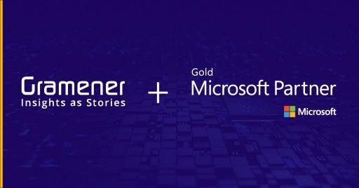 Gramener® Announces Gold ISV Partnership With Microsoft to Provide Insightful Data Analytics Solutions