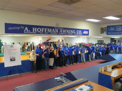 A. Hoffman Awning Co. Launches 100% Employee Vaccination Pledge