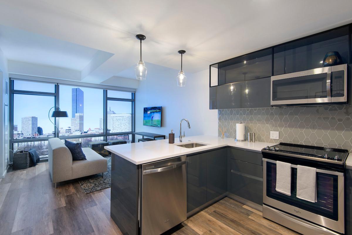 345 Harrison Apartment Interior. HAWTHORNE, N.J. ...