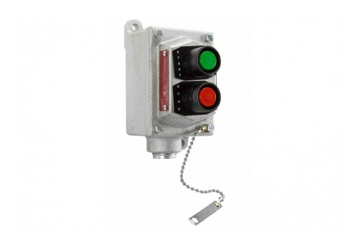 Larson Electronics Releases Explosion Proof Push Button Stop/Start Switch, 250V 3PH, CID1&2