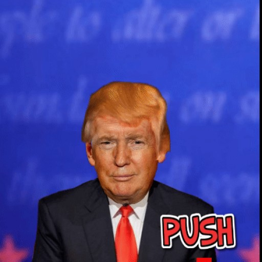 App Makes Donald Trump's Hair Fly - You Are the Pilot