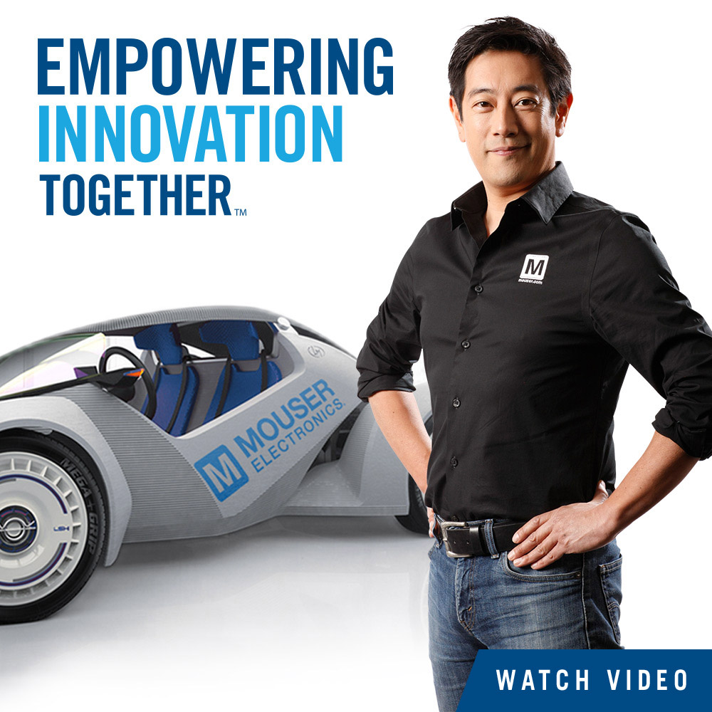 Mouser Electronics And Grant Imahara Debut Video Of Transformative