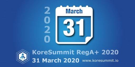 KoreConX RegA+ 2020 Online Summit