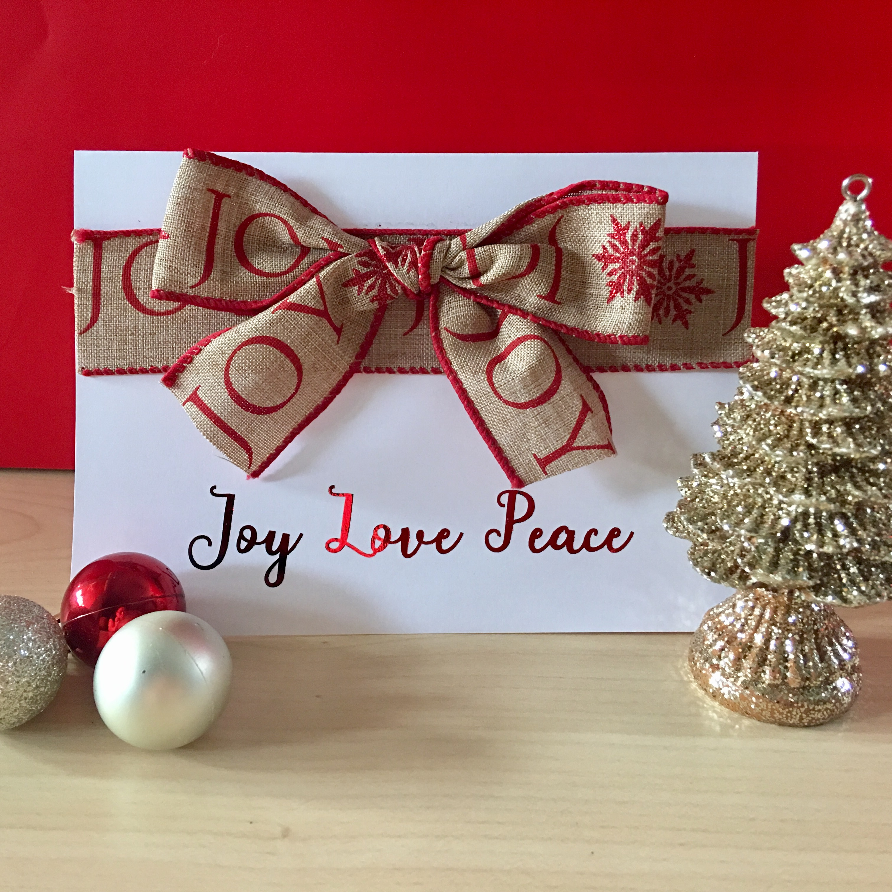 Forget the Christmas Text - Joy Love Paper\'s Handmade Cards Will Wow ...