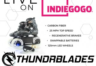 Thunderblade Live on IndieGoGo