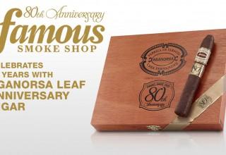 Aganorsa Leaf Famous 80th Anniversary Cigar