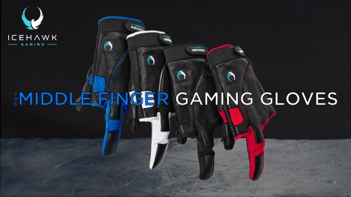 Icehawk Gaming Gives the Middle Finger to Gaming Problems