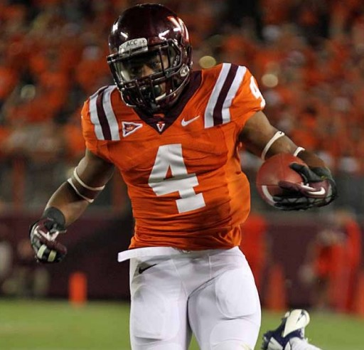 Virginia Tech Running Back JC Coleman Is Now Received Interest Form 7 NFL Teams, Outstanding Pro Day Video Released per Inspired Athletes