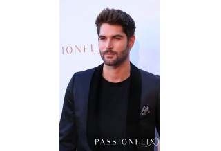 Nick Bateman of Passionflix's 'The Matchmaker's Playbook' attends 'Driven' Premiere.