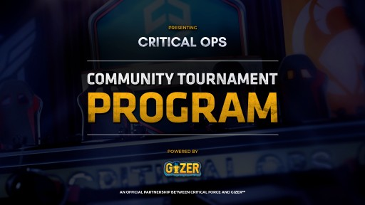 Critical Force Partners With GIZER to Bring Mobile Gaming Competitions to Critical Ops