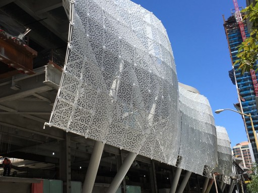 Architectural Space Frames Define Distinctive Look of San Francisco's Transbay Transit Center