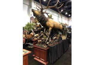 Heroic Bronze Elk