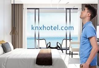 realKNX O-two Autonomous Voice Control for Hotels