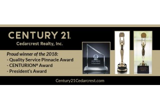 CENTURY 21 Cedarcrest 2018 awards